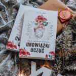 Książka Obowiązki Uczuć bestsellerem! Dziękuję!